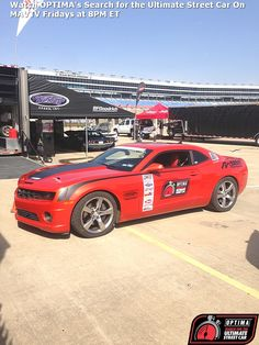 At least 14 Camaros are scheduled to compete in the 2014 #OUSCI including Jakey Sampson's 2010 Camaro.