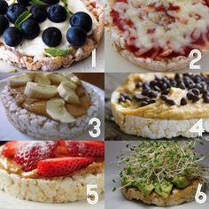 6 delish-sounding rice cake topper ideas