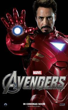 Robert Downey Jr. as Iron Man in 'The Avengers'