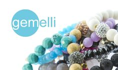 Up to 68% off these semiprecious beaded bracelets by Gemelli. Stack em for a Spring look that'll make a statement.
