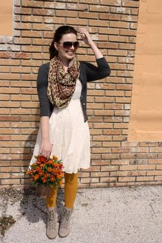 Clearly, mustard tights are in the cards this autumnal dressing season.