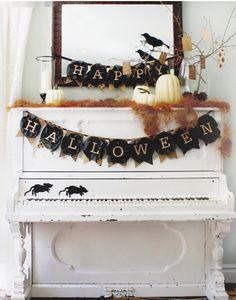 Halloween decor…love!