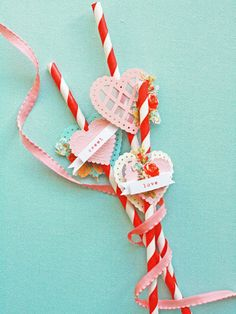 Sweet straws craft project