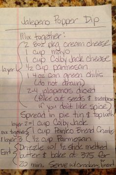 Jalapeño popper dip recipe. DELICIOUS!