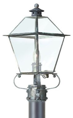 Troy Lighting P8952NR Montgomery - One Light Outdoor Post Mount, Natural Rust Finish by Troy. $498.00. 1LT POST LANTERN