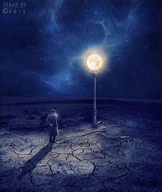 moon lamp by *ZedLord-Art on deviantART
