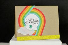 Happy St. Patrick's Day Card by Erin Lincoln for Papertrey Ink (March 2014)
