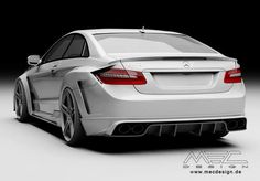 #Mercedes Benz E-Class W207 by MEC Design