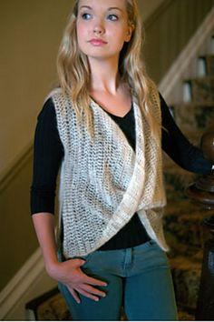 Ravelry: 2795 Crochet Moebius-Look Vest pattern by Jana Greer