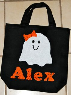 trick or treat bag easy to make not to scary for kids