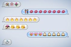 Love in the time of emojis