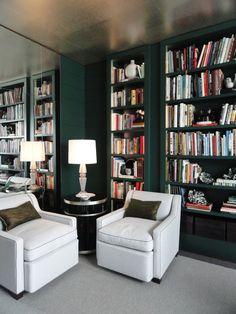 BELLE VIVIR: Interior Design Blog | Lifestyle | Home Decor: Jamie Drake: The Library