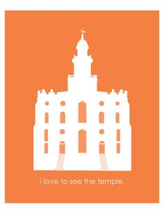 I Love To See The St. George Temple