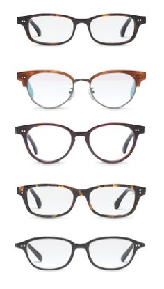 INTRODUCING TOMS OPTICAL COLLECTION Womens styles from top to bottom:  Amelie, Audra, Lula, Esther, Bangladesh