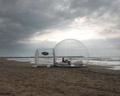 bubble tent!