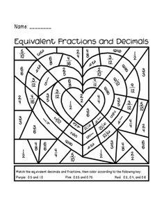 fractions on pinterest