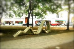 street furniture in
