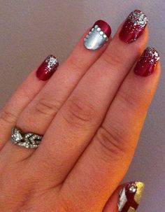 Fun nails for a semi-formal!