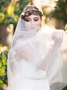 """Enchanted Forest"" – Ethereal Autumn Wedding Inspiration"