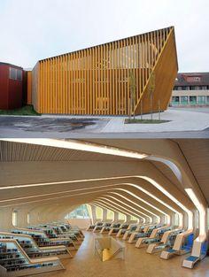Vennesla Library and Culture House, designed by Helen & Hard, Vennesla, Norway
