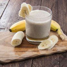 Healthy Banana Smoothie to enjoy after a nice #summer run!  #smoothies #ginger #banana