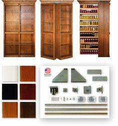 The Murphy Door | The Bi-Folding Bookshelf Door  themurphydoor.com