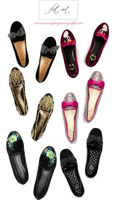 Flat Out - Embellished Loafers and Slippers