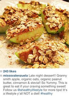 a healthy dessert idea