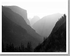Yosemite Silhouette 1987
