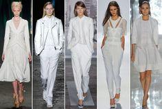 Spring 2013 Runway Trend: White on White
