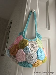 colour in a simple life: Crochet