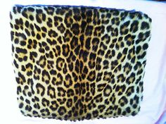 1940's authentic Leopard fur muff by TrinketsTreasuresArt on Etsy, $400.00
