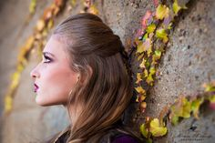#Fall #autumn #ivy #miriammoskovits #beauty #makeup #hairstyle Photography by Miriam Moskovits Hair by Ruchy Schwarzmer Makeup by Rachel Hoffman