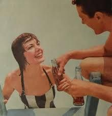 How cute is this old Coke ad?