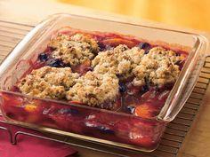 Blueberry-Peach Cobbler