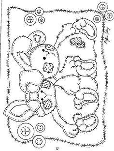 Bunnies pattern