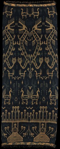 Ikat from East Sumba, Indonesia