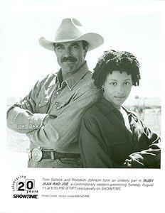 Tom Selleck as Joe in a fun movie called Ruby Jean and Joe.
