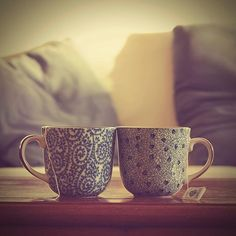 Tea for two.