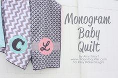 diari, baby quilts, babi quilt, monogram quilt, monogram babi