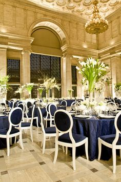 celebrity style, wedding receptions, event planning, centerpiec, blue
