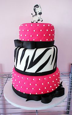 Zebra Baby | Oklahoma's Premier Wedding Cake Designer and Sugar Artist