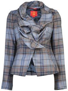 VIVIENNE WESTWOOD RED LABEL - Ruffle collar blazer 7