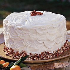 40  Mouthwatering Holiday Desserts | Honey's Carrot Cake | CoastalLiving.com