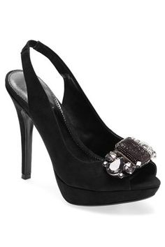 Buy Black Chunky Trim Peep Toe Court Shoes from the Next UK online shop