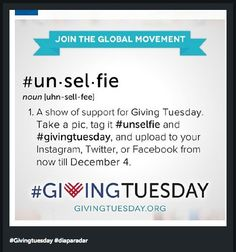 Join the #unselfie movement! 8 Ways to Incorporate Instagram Into Your End-of-Year Giving Campaign.