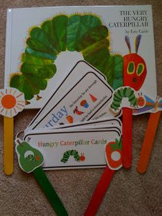Hungry Caterpillar printables and activities from Preschool Printables