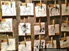 Reggio Emilia: Child Art - Identity Panels - Fairy Dust Teaching