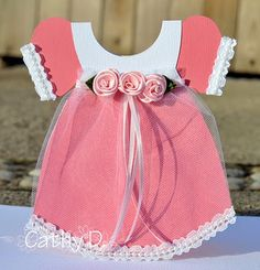 Baby Dress Card and Template