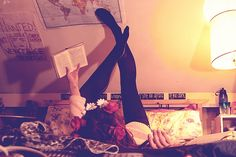 book nerd, book librari, pink milk, pulp girl